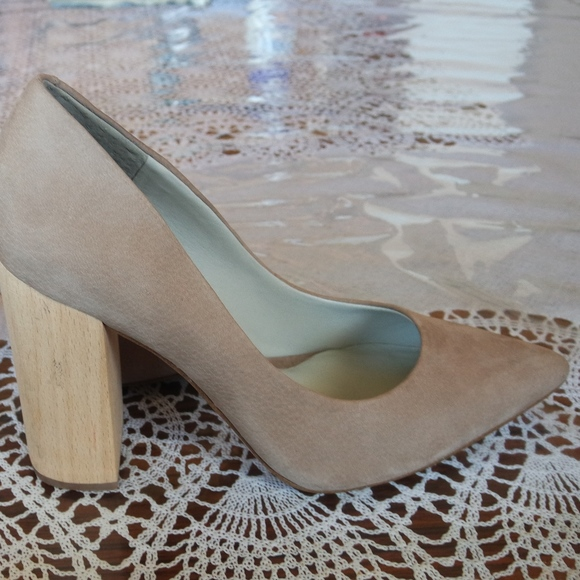 195c5bd3a92d 1. State Shoes | 1state Valencia Pointed Toe Wooden Heel Pumps ...